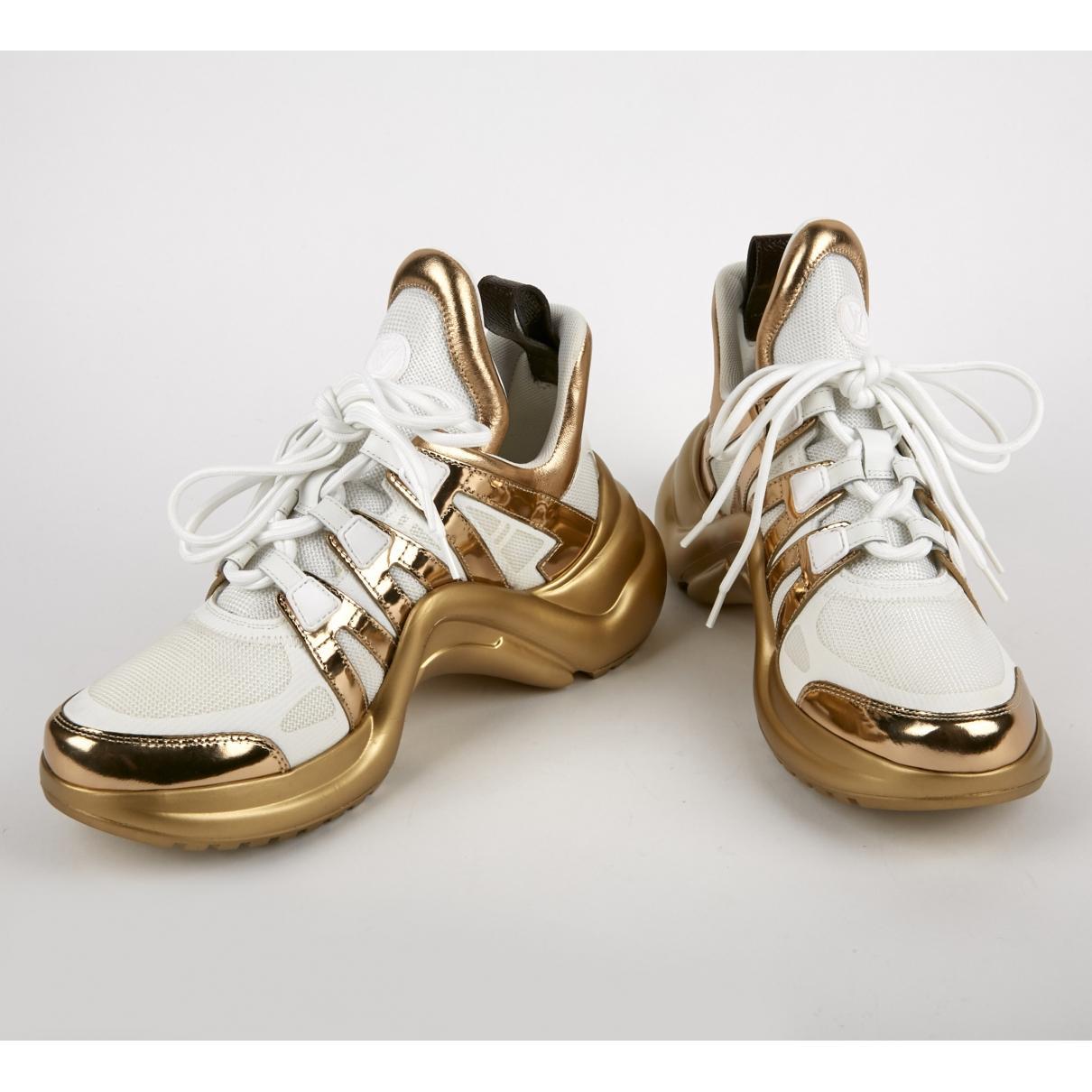 Louis Vuitton Archlight Gold Patent