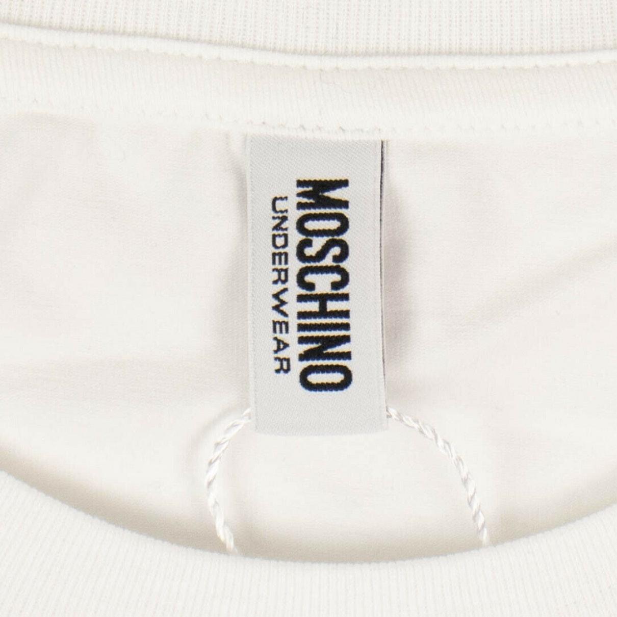 Camisa en algodón blanco Moschino de Algodón de color Blanco