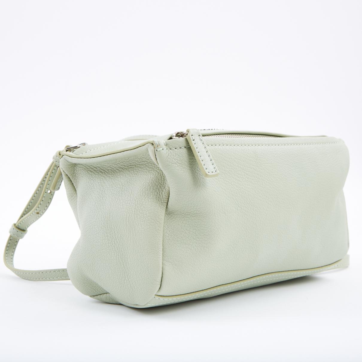 ca98e3c292 Givenchy - Pandora Box Green Leather Handbag - Lyst. View fullscreen