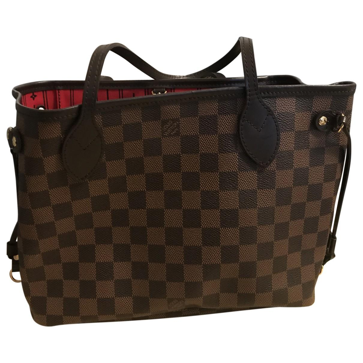 Louis Vuitton Neverfull Cloth Tote in Brown - Lyst f7b83060572