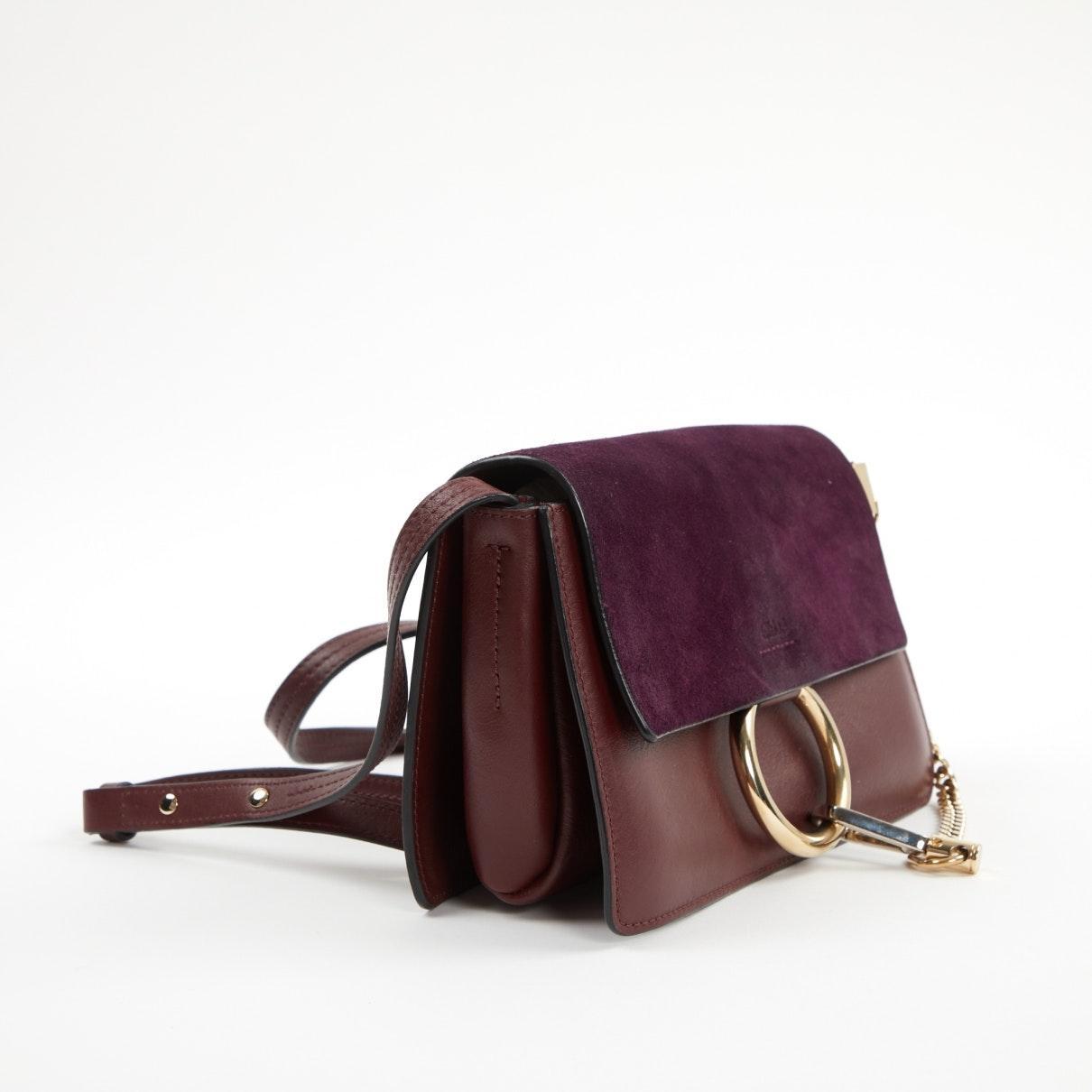 Sacs à main Faye Chloé en coloris Violet 5Xa7