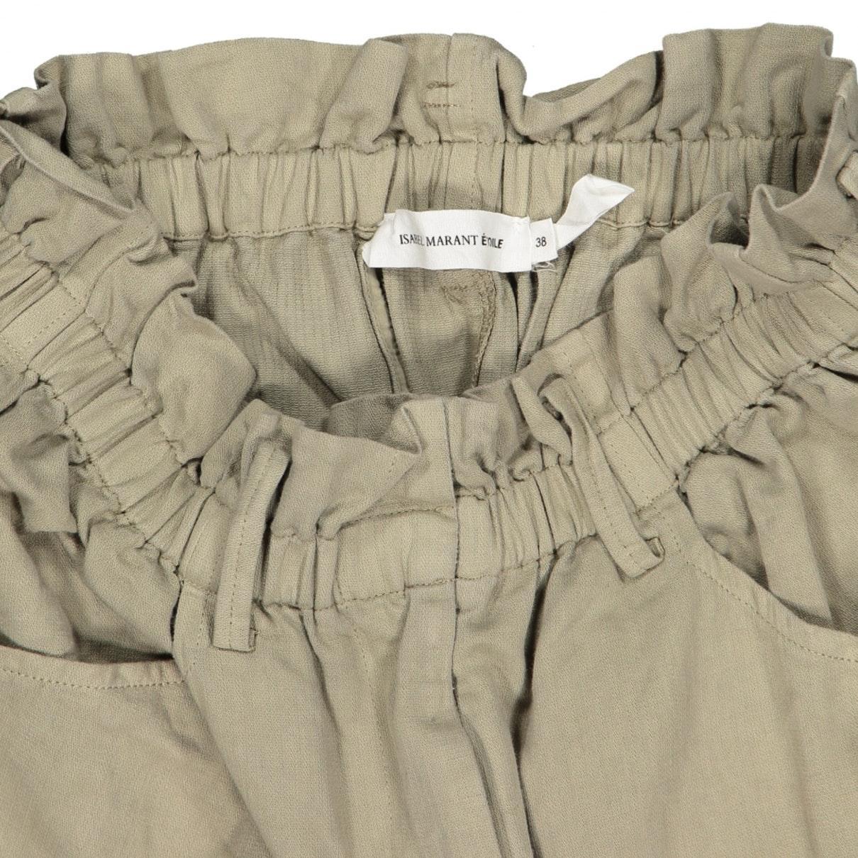 Jupe en Coton Beige Coton Étoile Isabel Marant en coloris Neutre