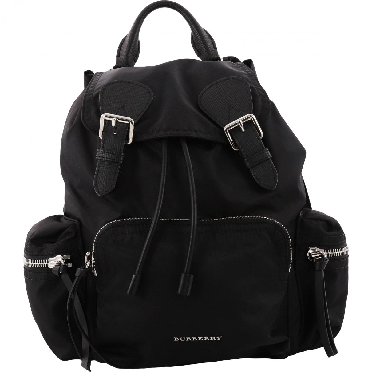 Burberry Synthetic The Rucksack Black Small Backpack