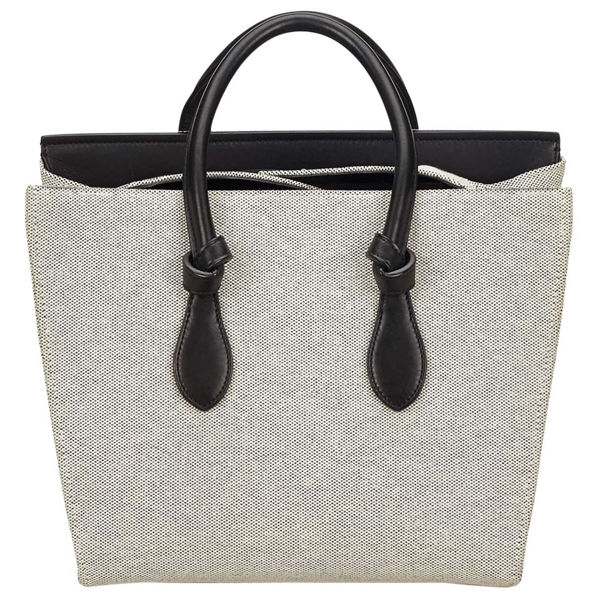 Céline Tie Cloth Handbag in Gray - Lyst d064d318a963b