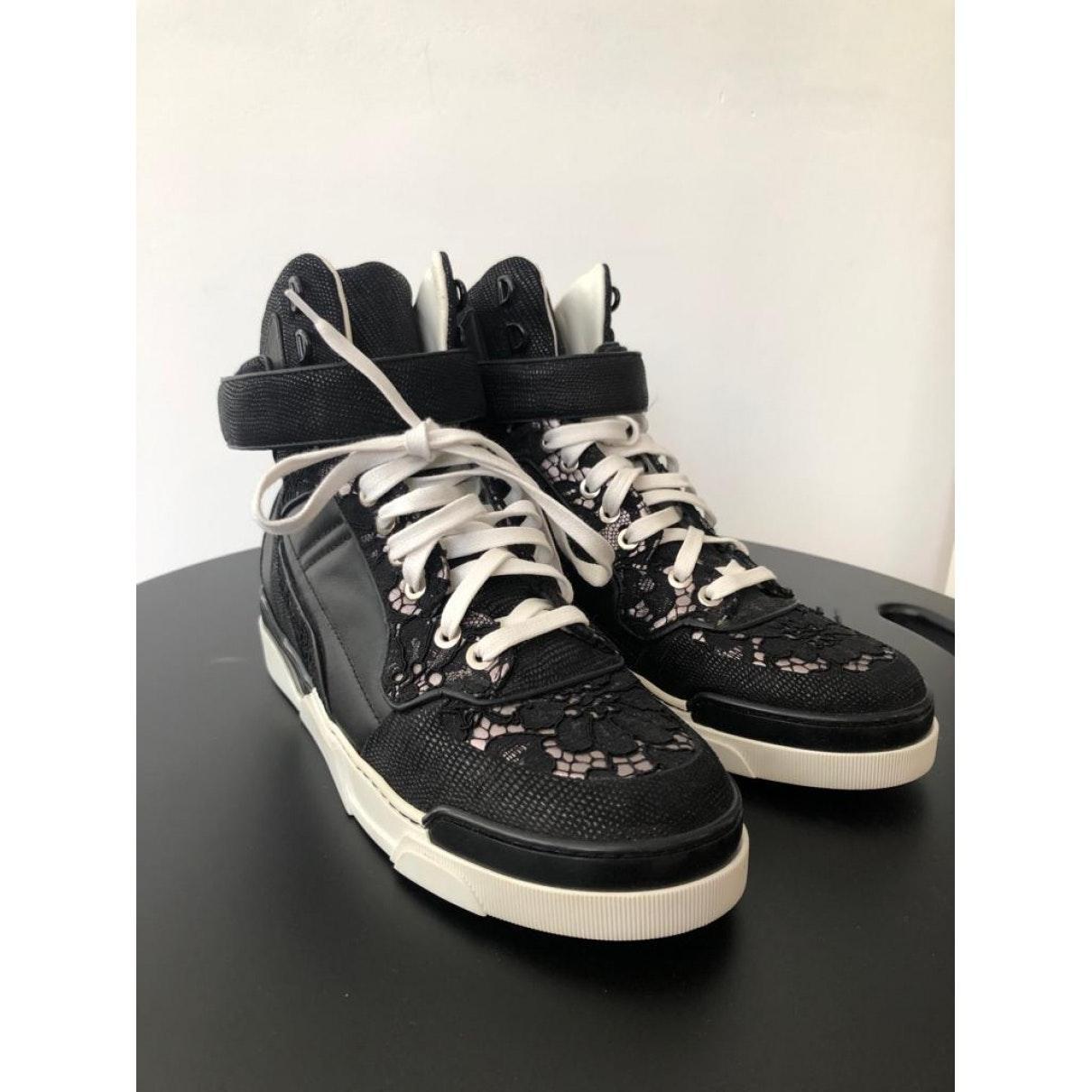 Deportivas de Cuero Givenchy de color Negro