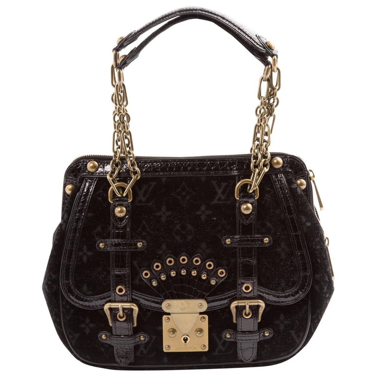 Louis Vuitton Pre-owned - Velvet handbag lZPQ7mg