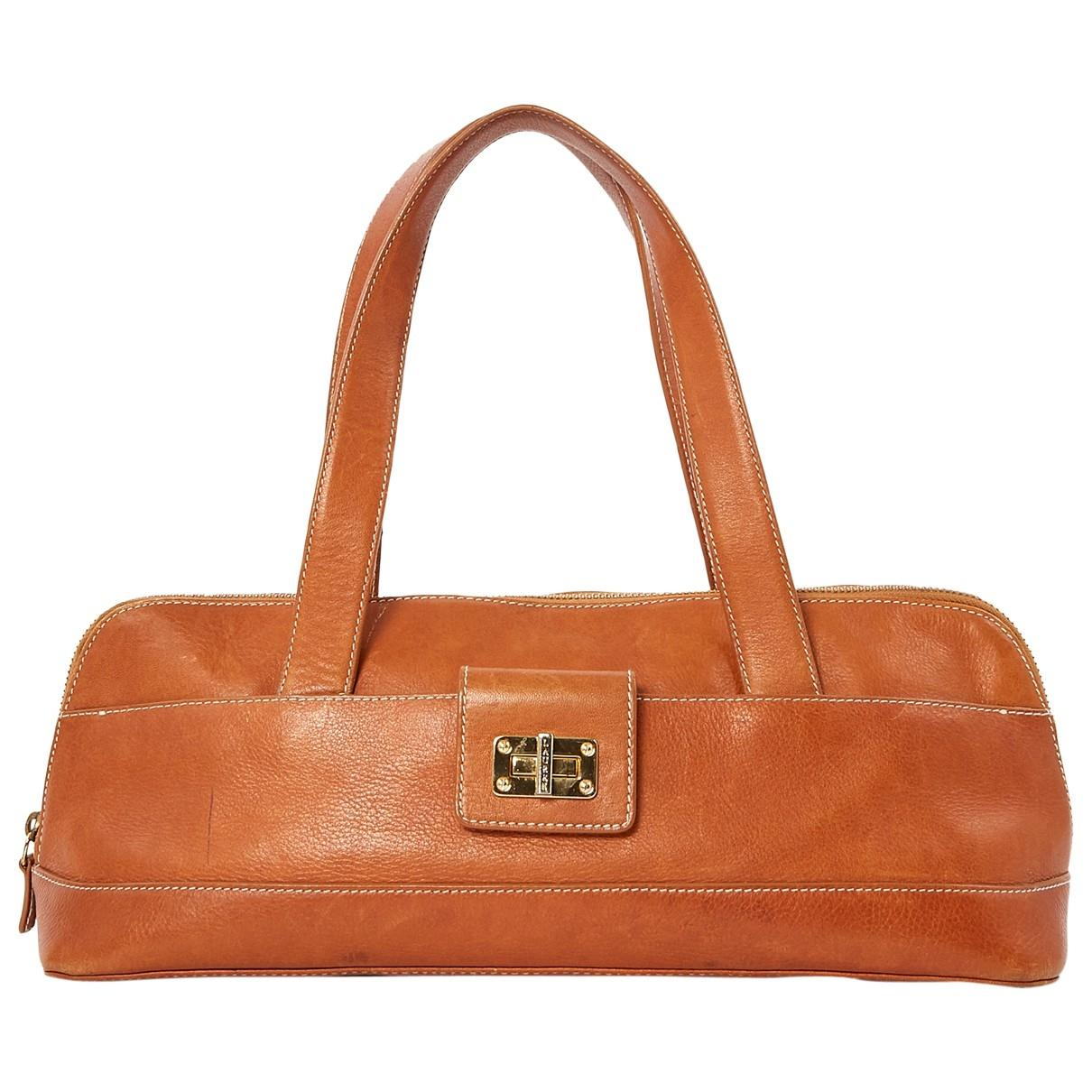 dec65a3f9fa7 Ralph Lauren Collection. Women s Brown Leather Handbag. £219 From Vestiaire  Collective