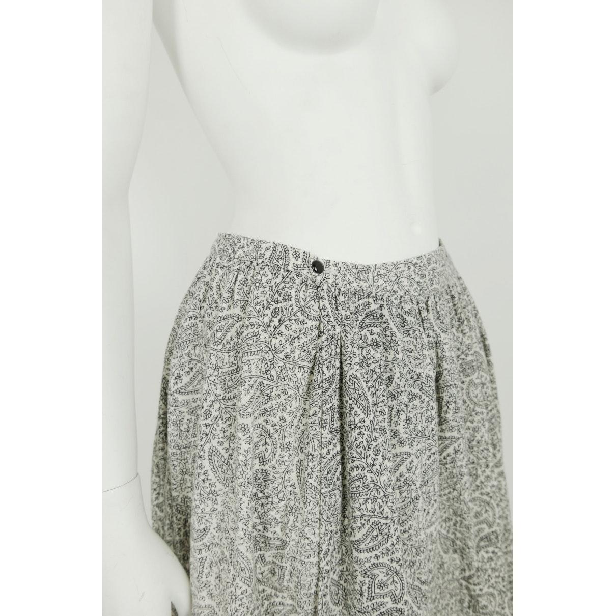 Falda en algodón blanco N Comme des Garçons de Algodón de color Blanco