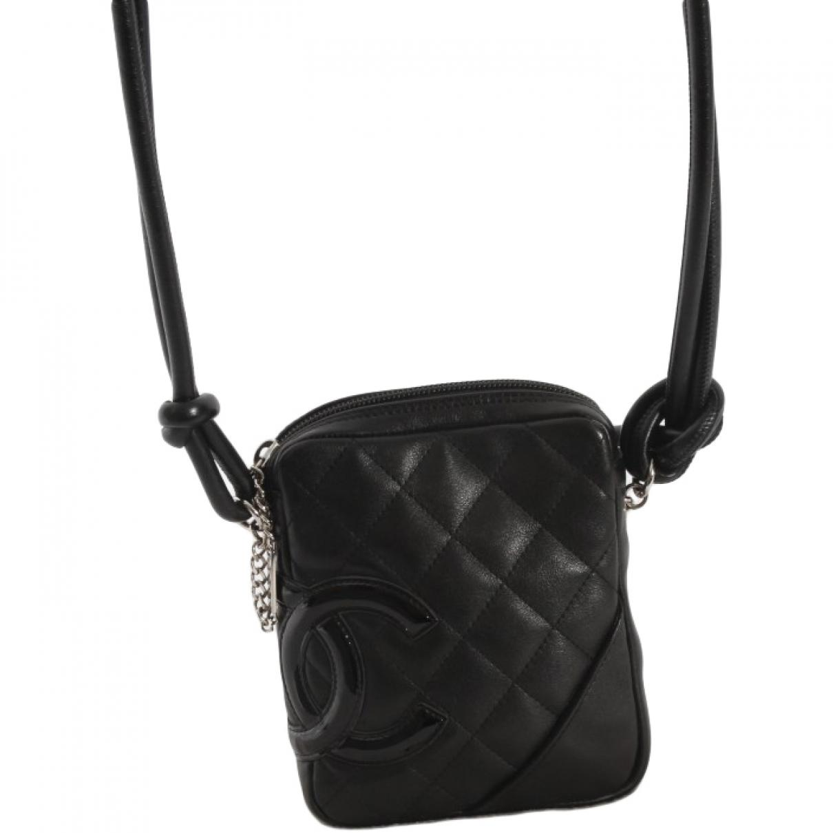 789c8ecdd9eb Chanel Pre-owned Cambon Crossbody Bag in Black - Lyst