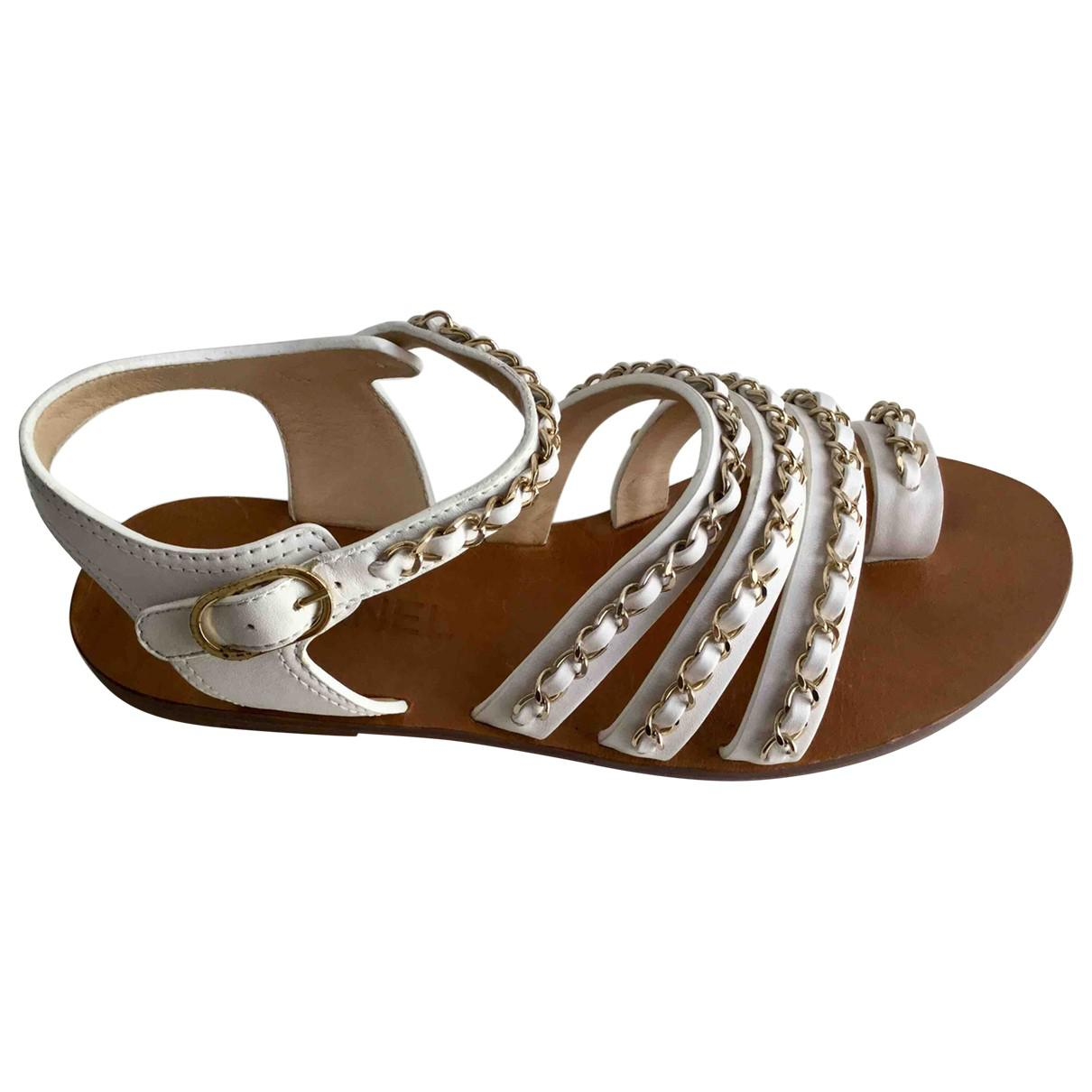 Pre-owned - Leather sandals Chanel b5l2wU8