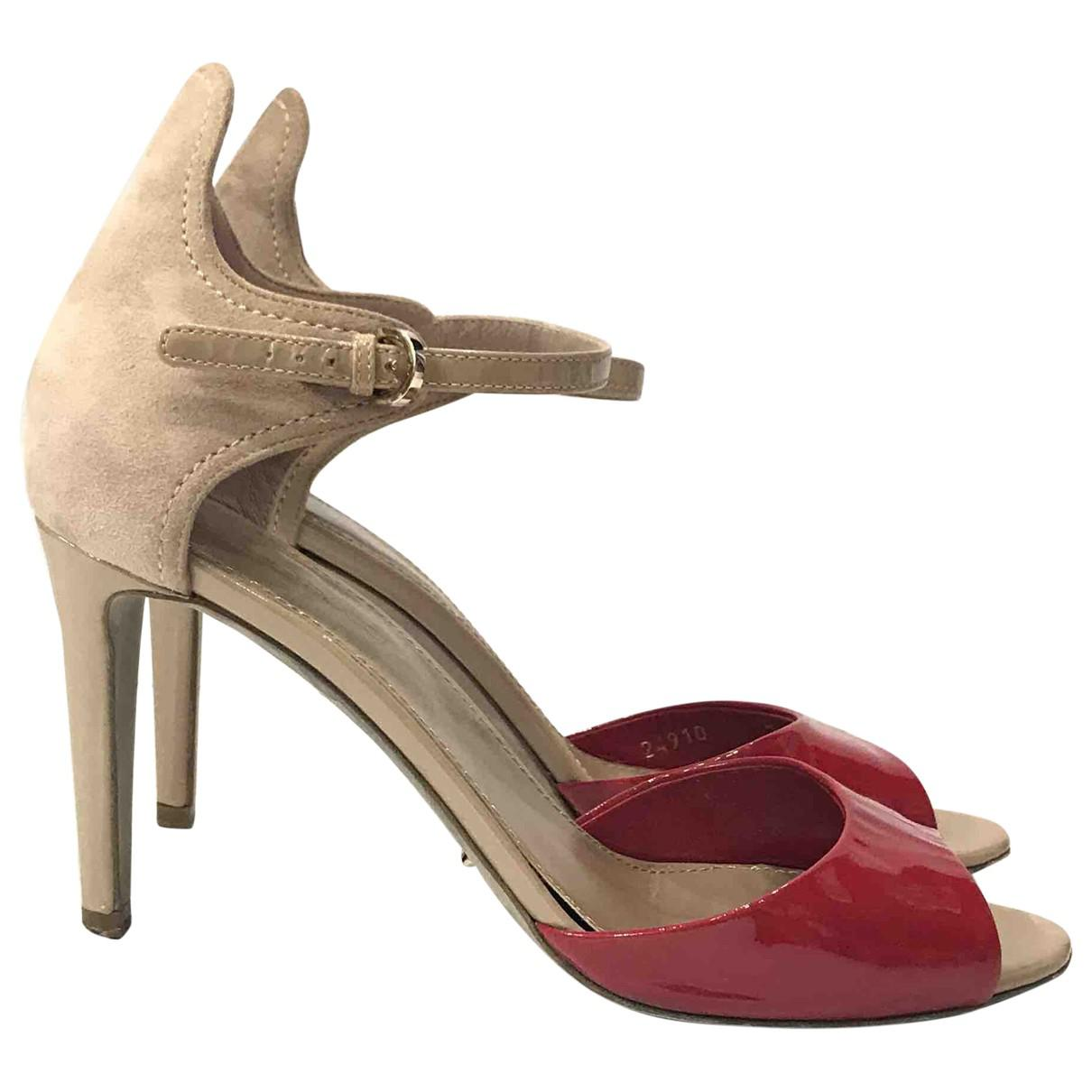 Pre-owned - Leather sandal Sergio Rossi