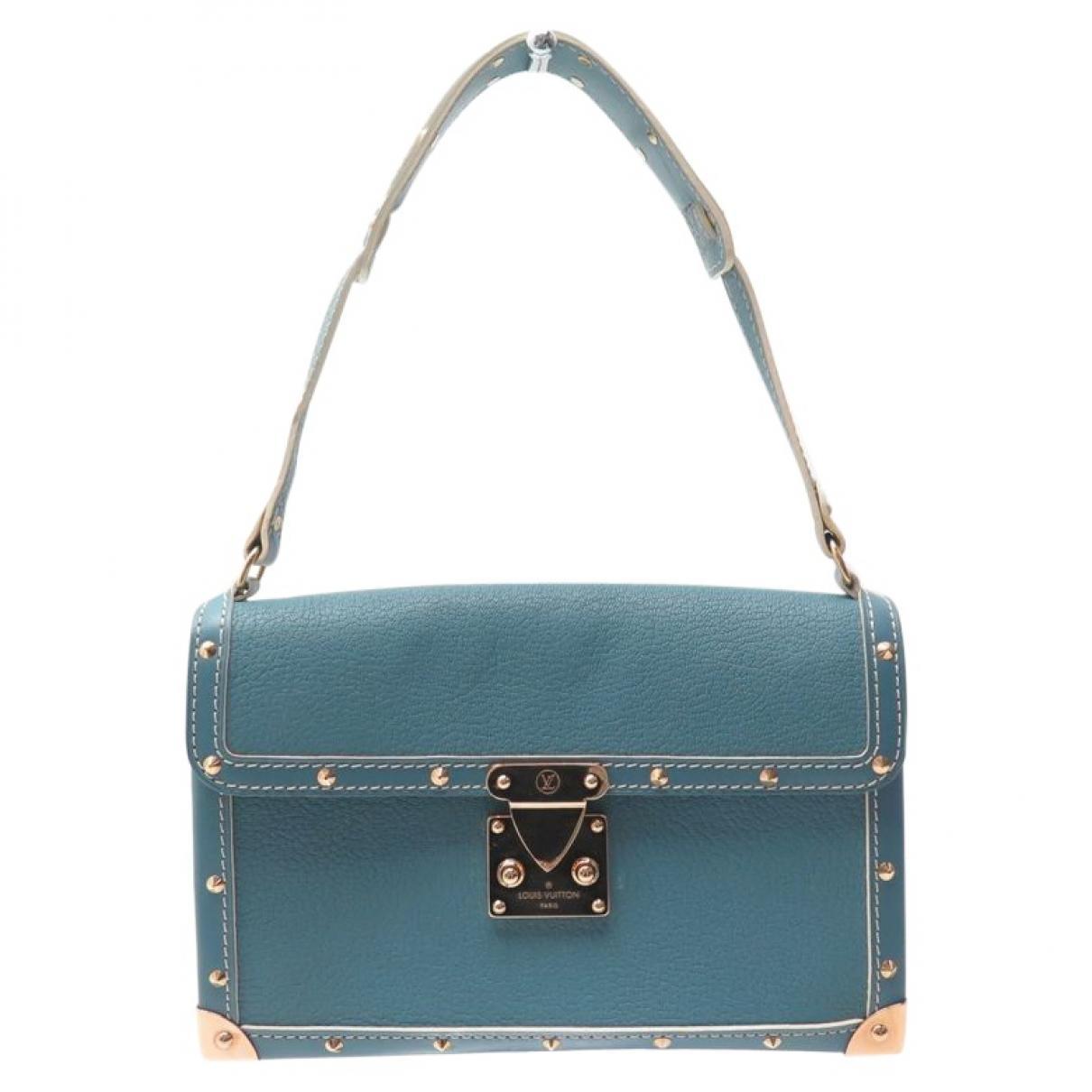 72bf9fc8cc3b Lyst - Sac à main Le Talentueux en cuir Louis Vuitton en coloris Bleu