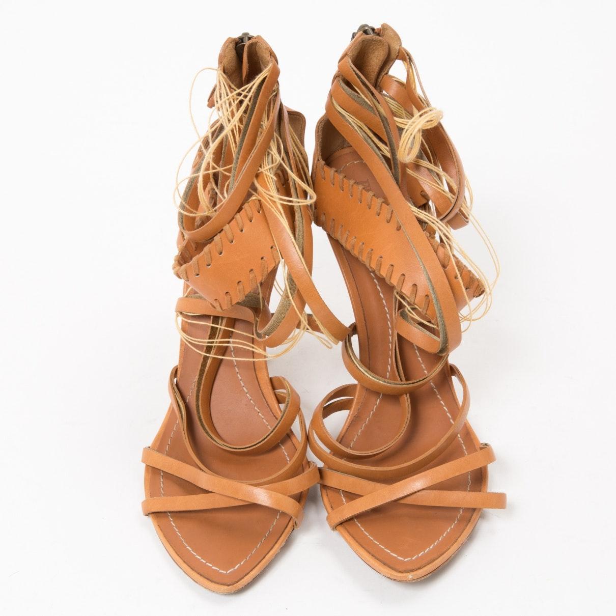 Sandales N en Cuir Marron Emilio Pucci en coloris Marron