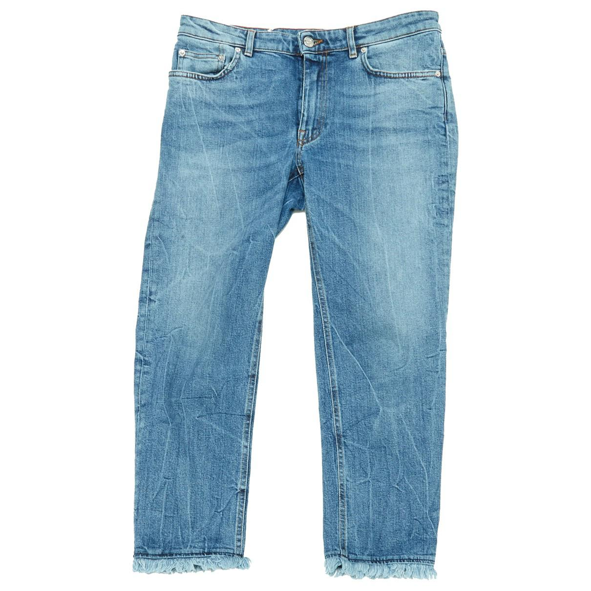 854850ae3f Acne Studios. Women s Blue Cotton Jeans.  170  153 From Vestiaire Collective