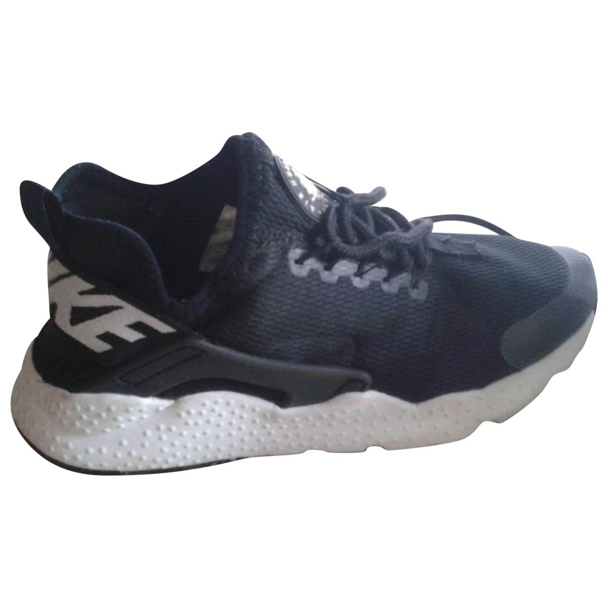 Baskets Huarache en Toile Noir Toile Nike en coloris Noir 3TNk