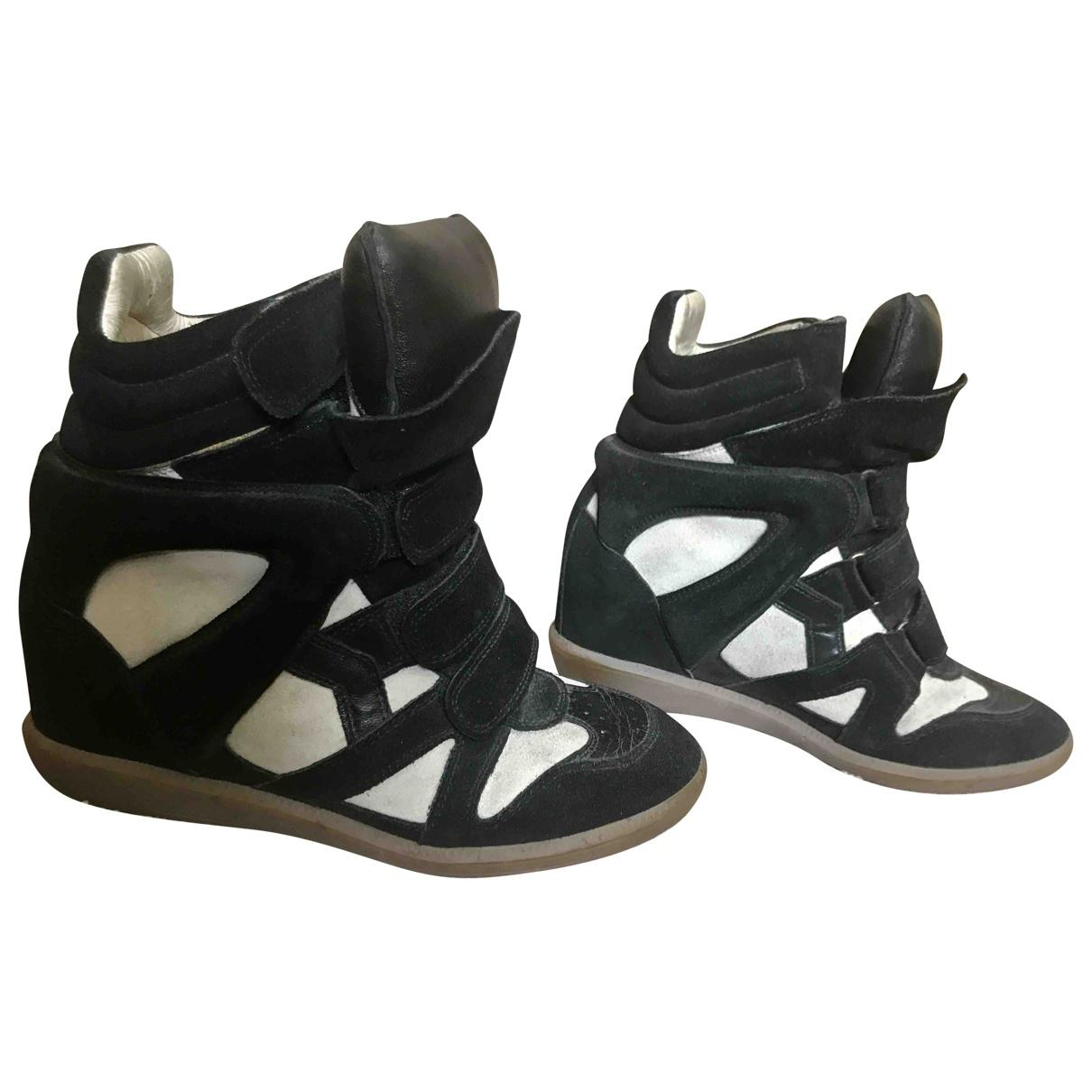 Pre-owned - Leather trainers Isabel Marant sfXC10hr7N