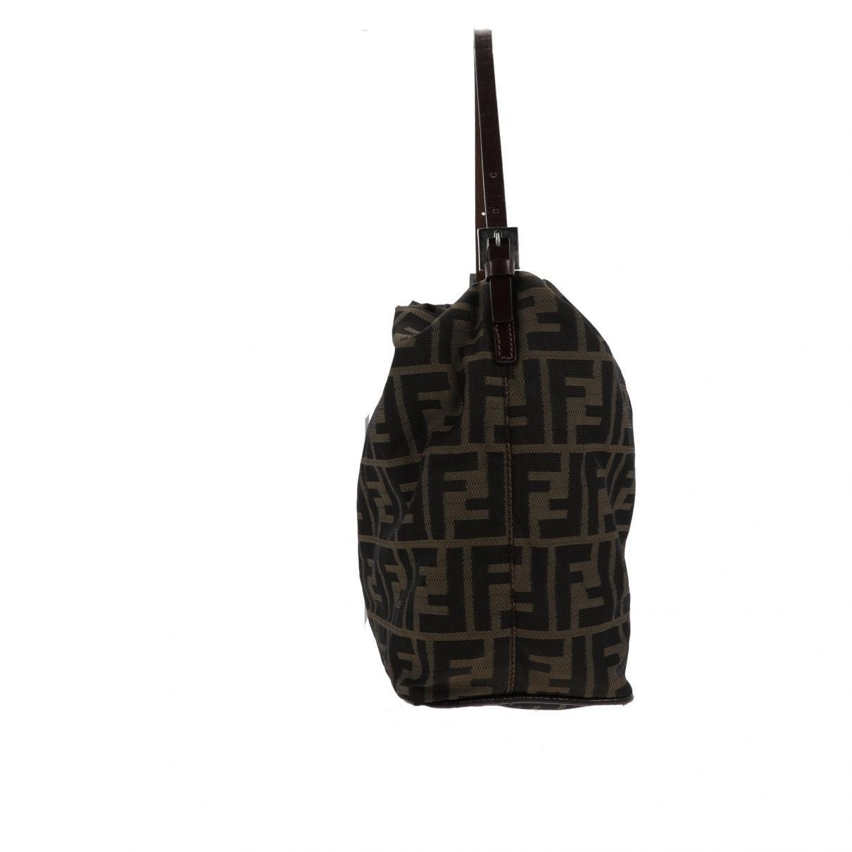 Fendi Leinen Handtaschen in Braun sv0ZO