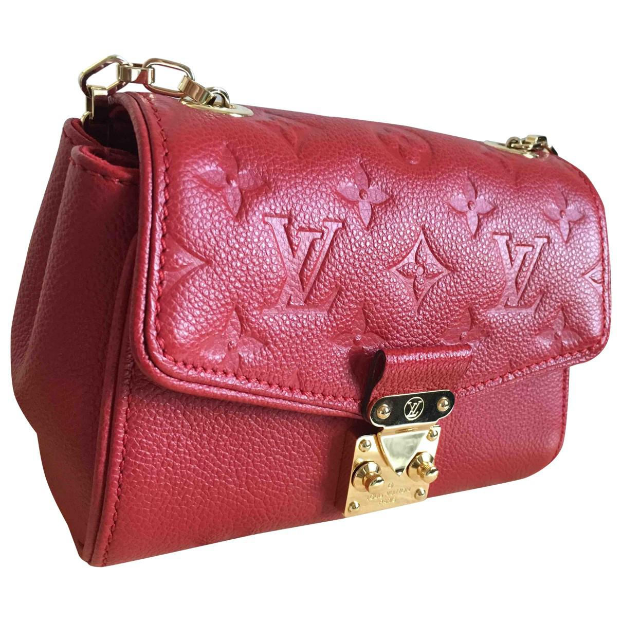 Pre-owned - Leather mini bag Louis Vuitton kZkp5