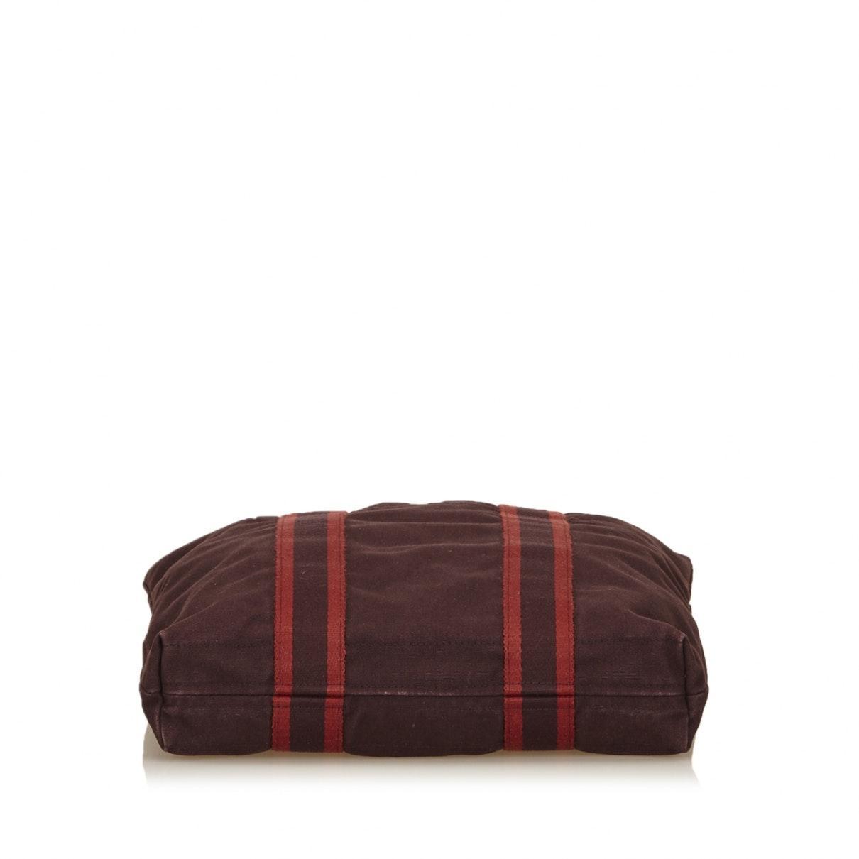 Hermès Canvas Toto Red Cloth