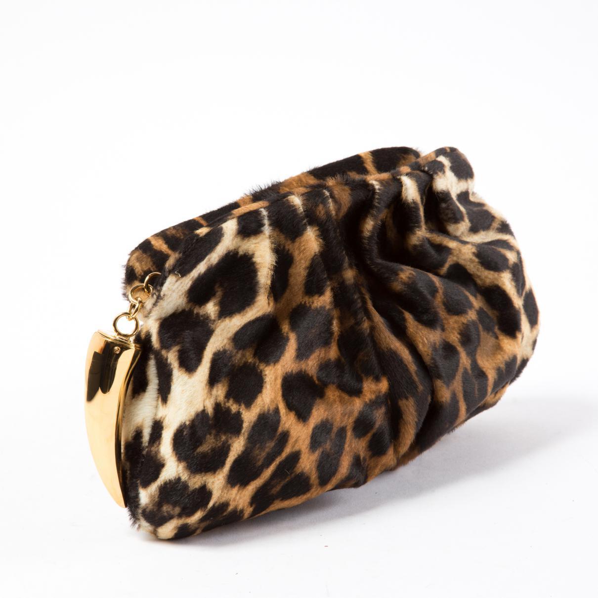 Giuseppe Zanotti Pre-owned - Ponyhair-style calfskin clutch bag L6PDhyaj