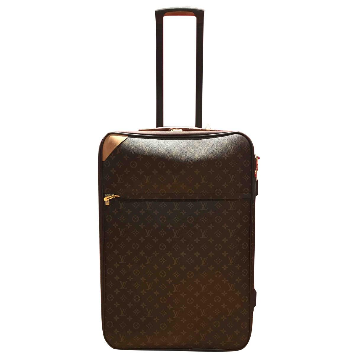 Pre-owned - Pegase leather travel bag Louis Vuitton hQ18oFFh7
