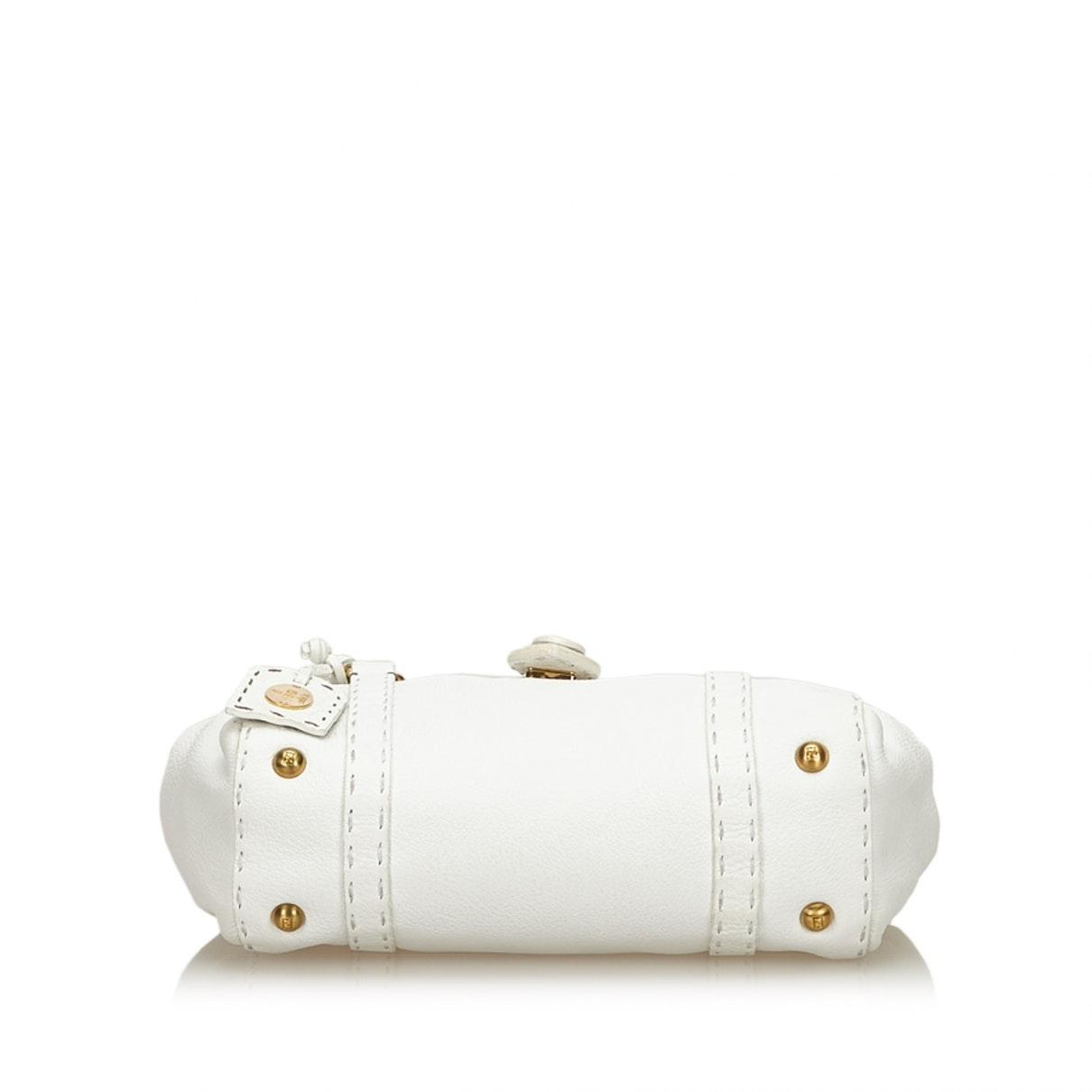 Sacs à main Cuir Fendi en coloris Blanc H6gE