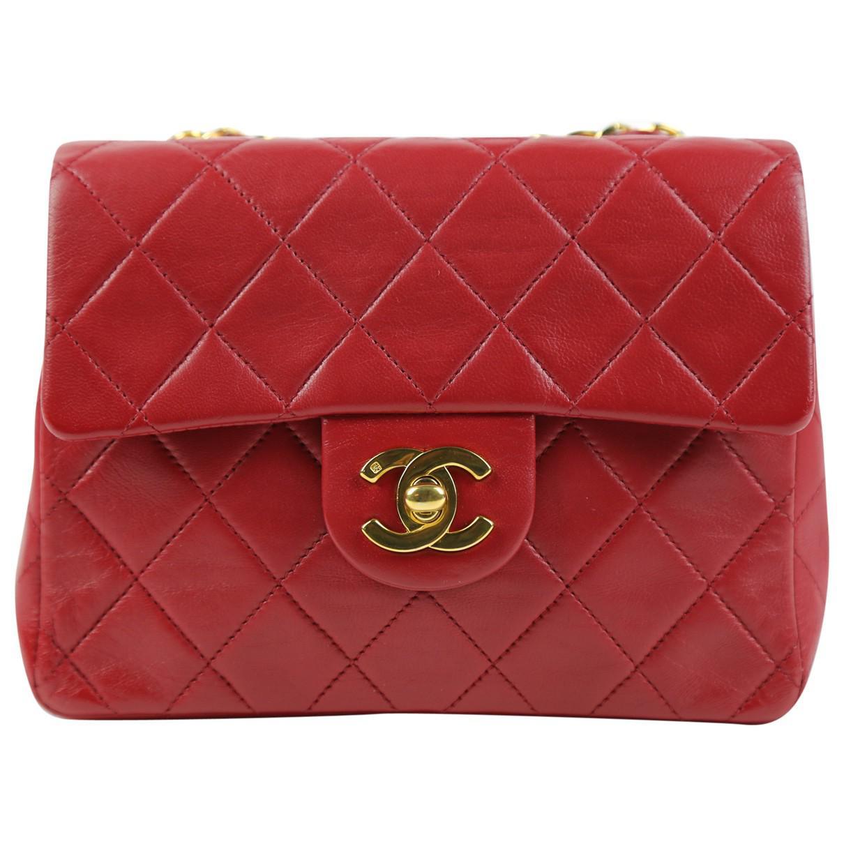 Chanel Pre-owned - Timeless leather mini bag uMdYa9oA