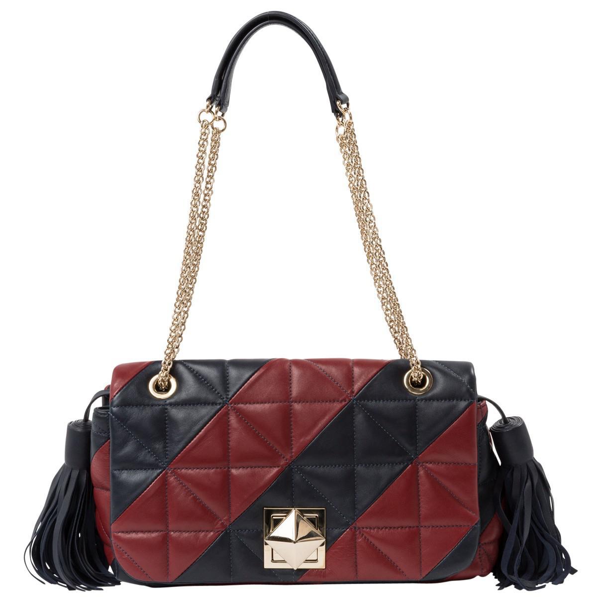 Pre-owned - Leather handbag Sonia Rykiel J3pnmdRfMu