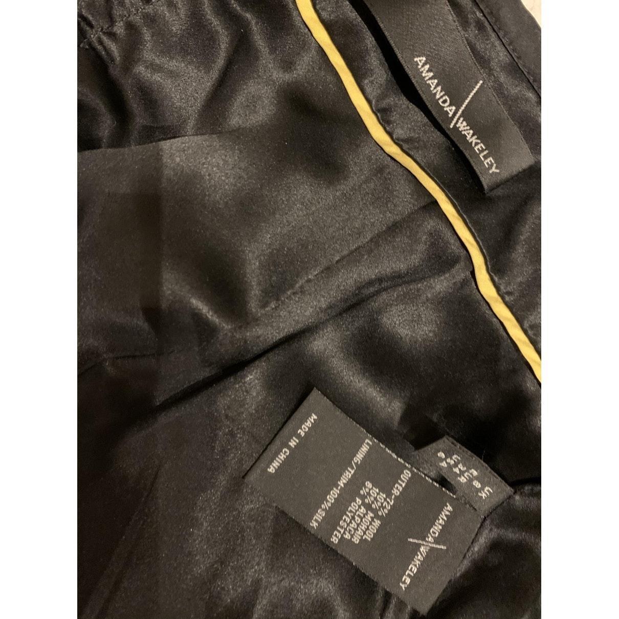 Jupe en Viscose Noir Burberry en coloris Noir
