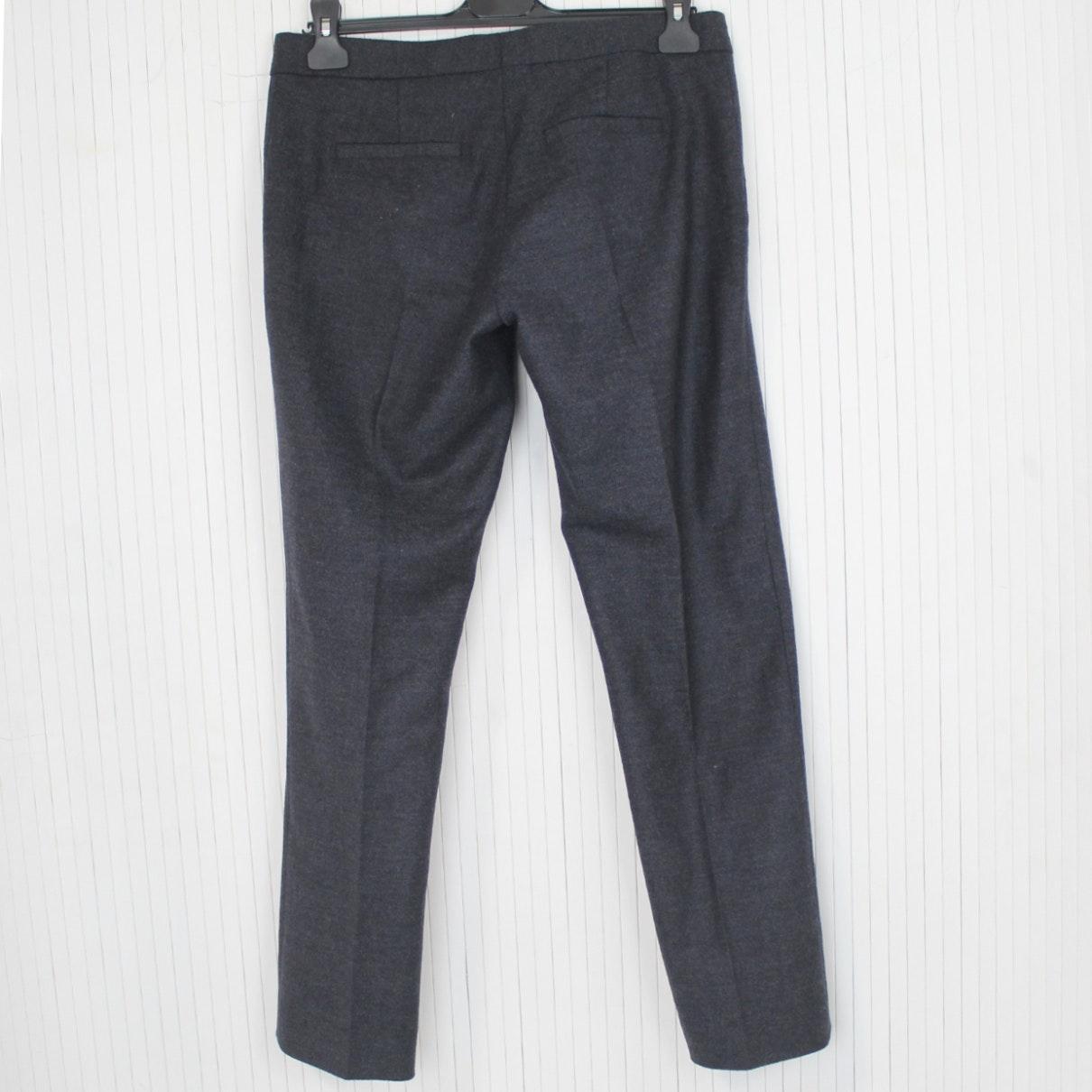 Pantalones en lana gris N JOSEPH de Lana de color Gris