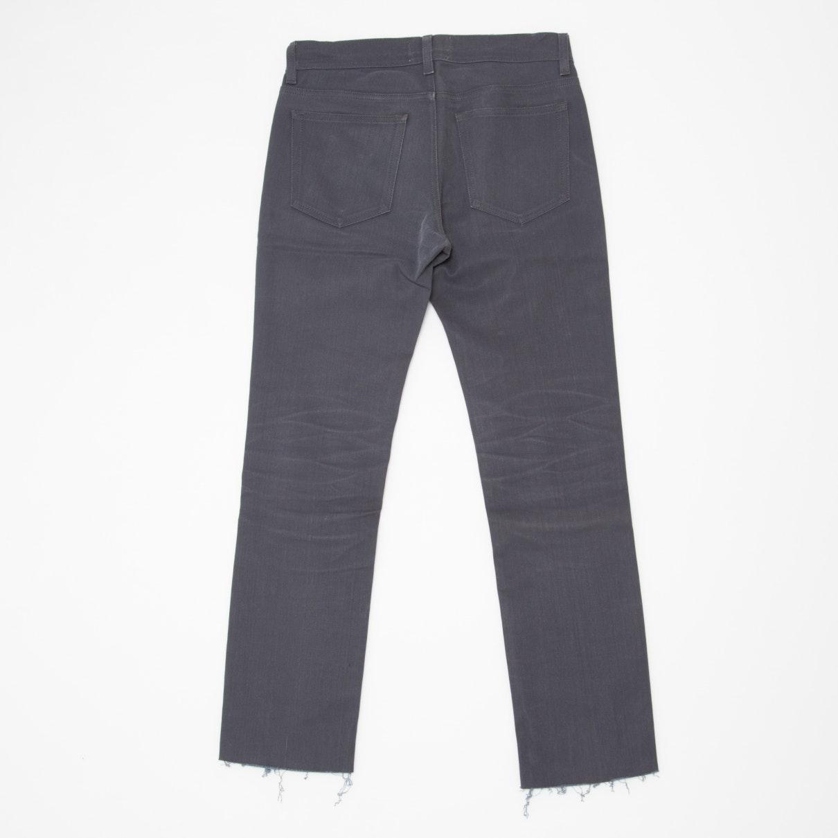 Acne Studios Denim Grey Cotton - Elasthane Jeans in Grey for Men