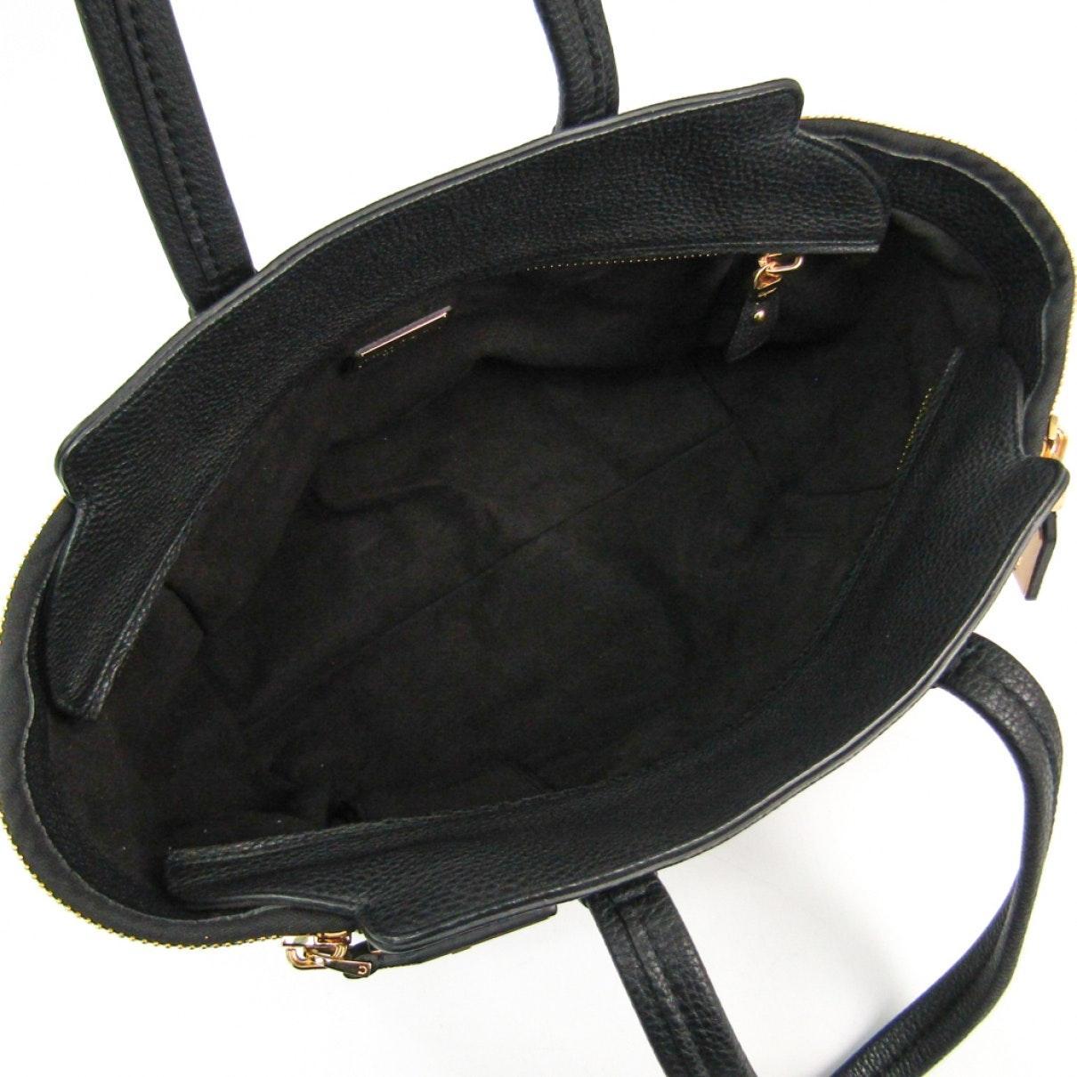 Ferragamo Leder Handtaschen in Schwarz QdBV8