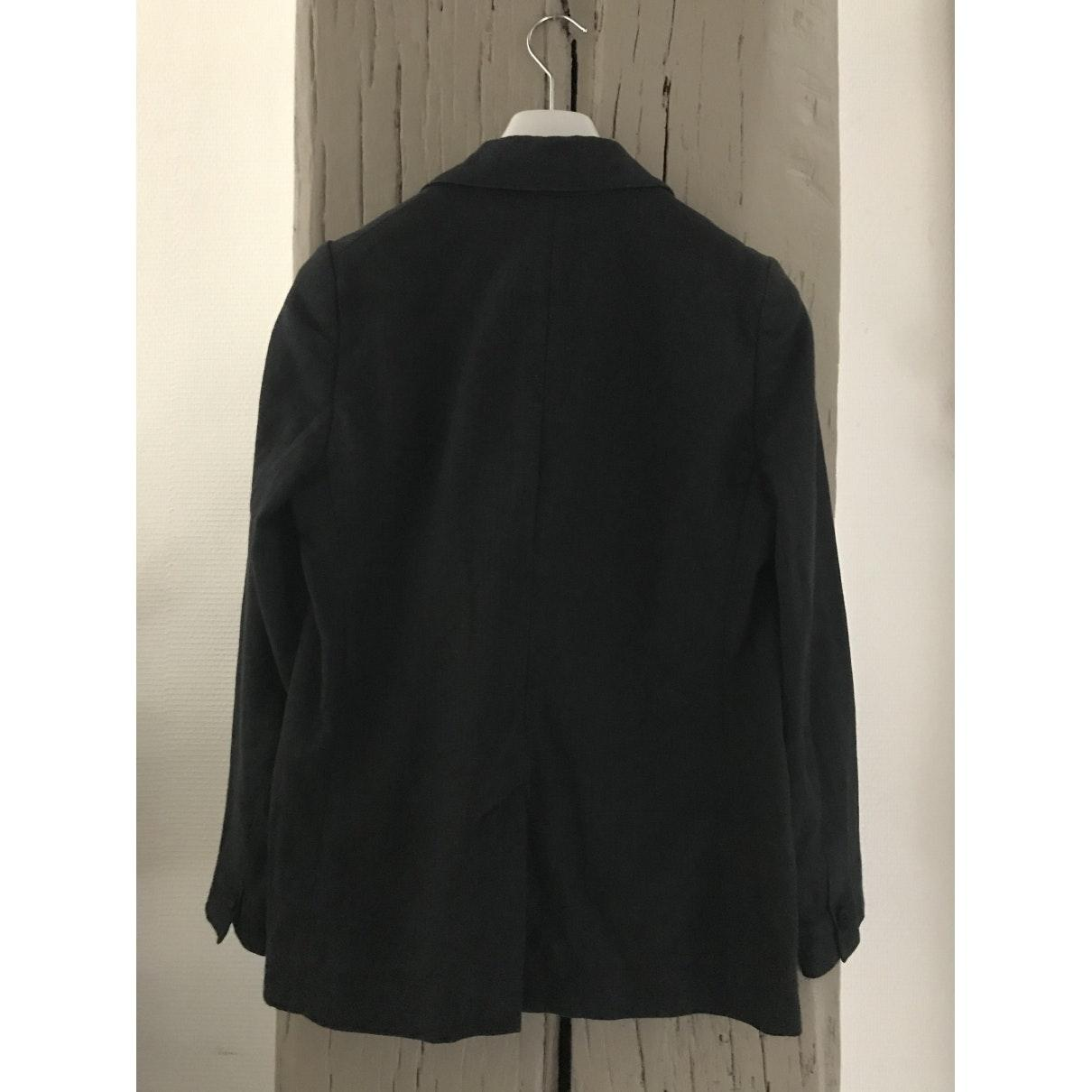 Chaqueta en algodón antracita Étoile Isabel Marant de Algodón de color Negro