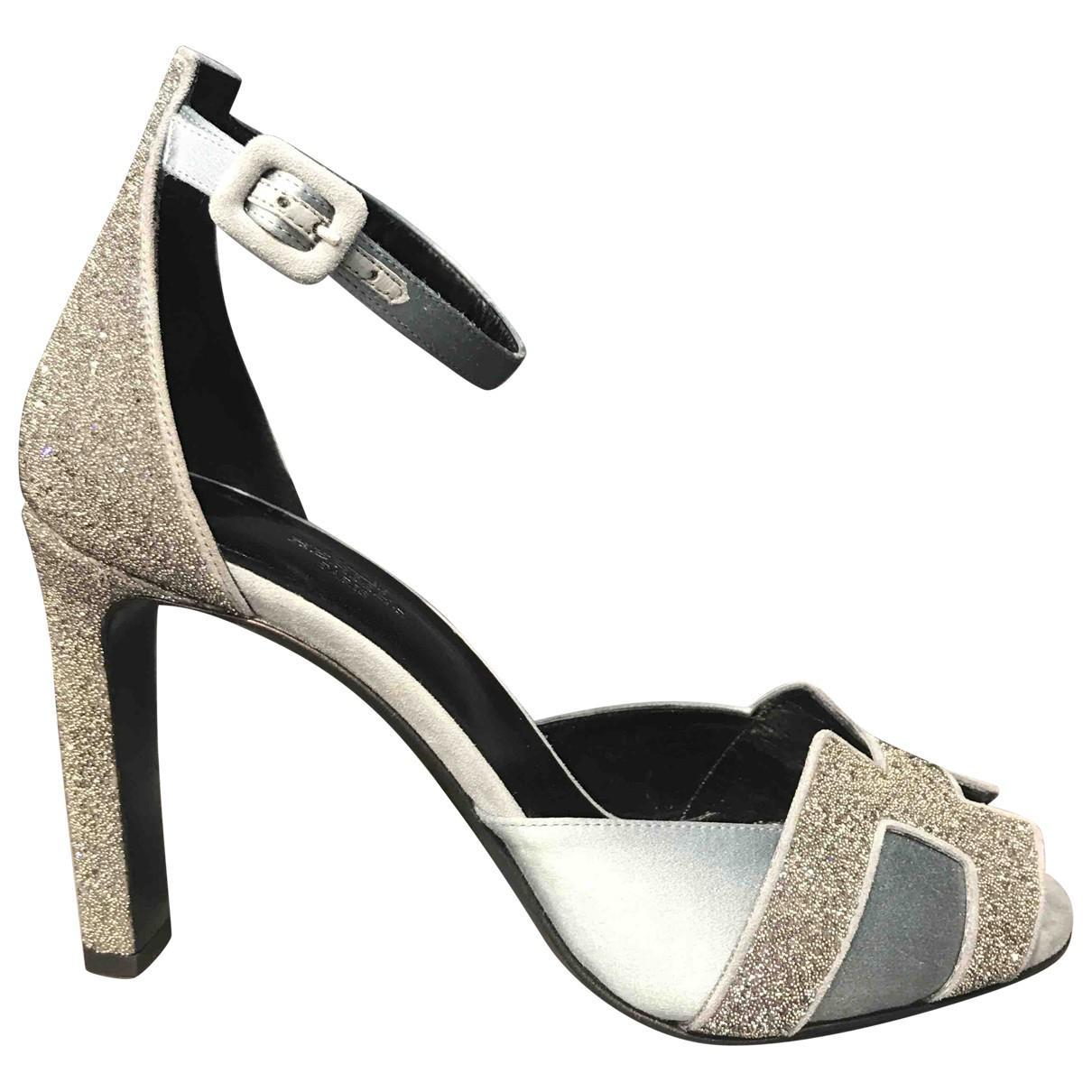hermes sandals sparkle