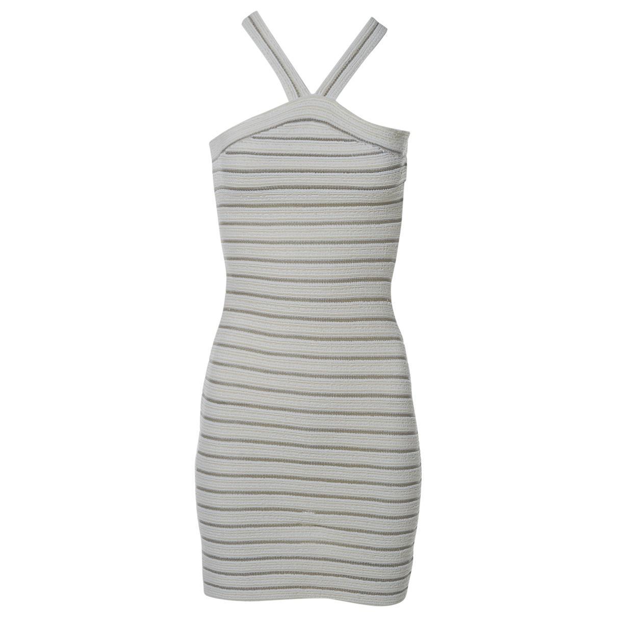 b772c941205 Lyst - Alaïa Mini Dress in White