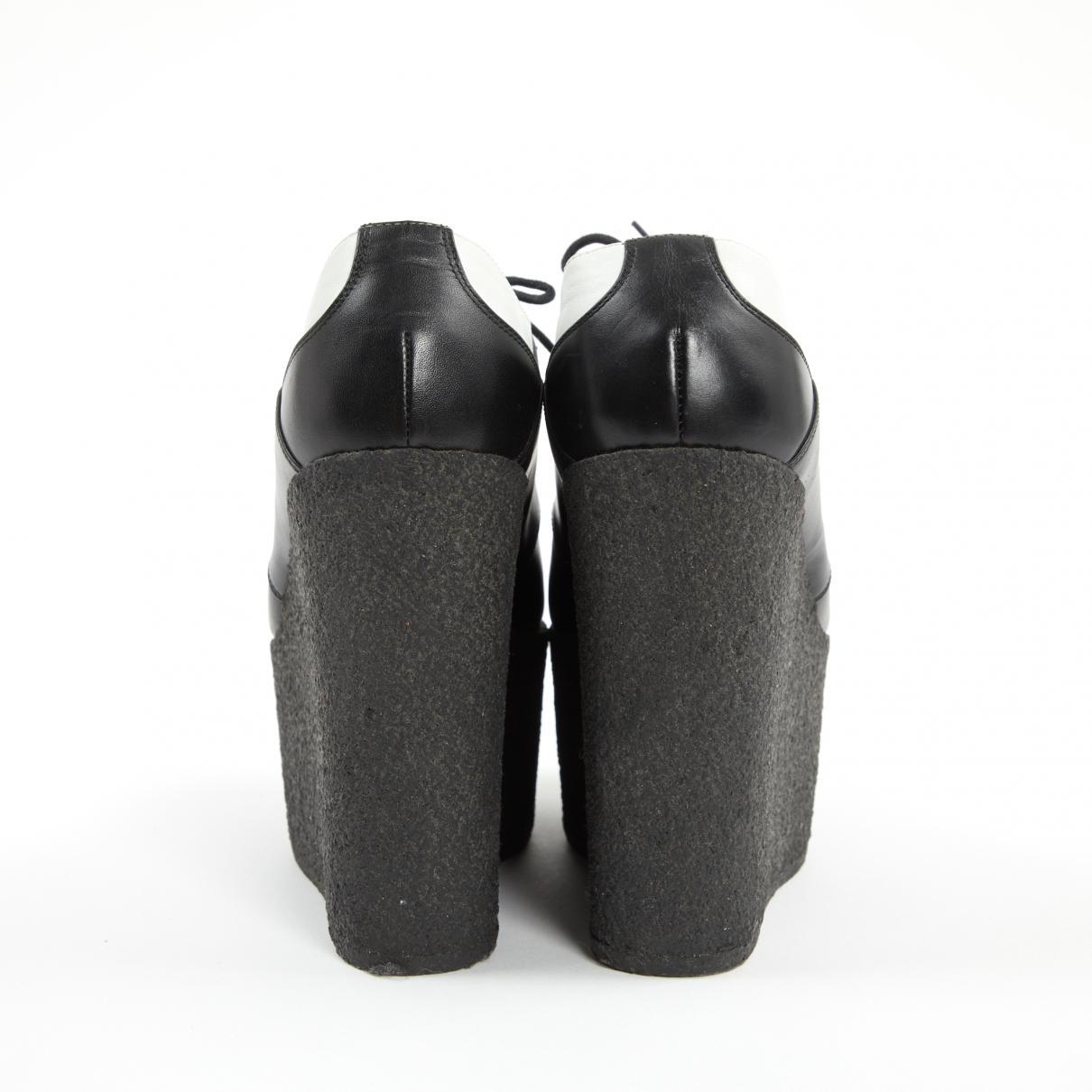Derbis de Cuero Celine de Cuero de color Negro