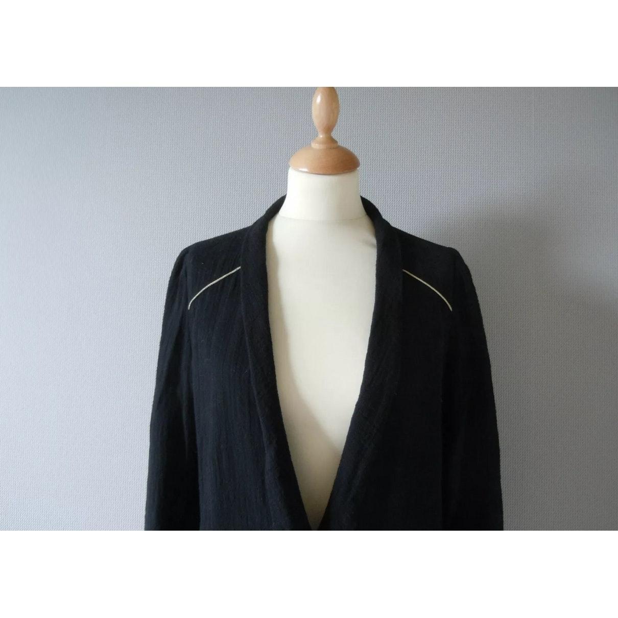 Vest N en Coton Noir Ba&sh en coloris Bleu