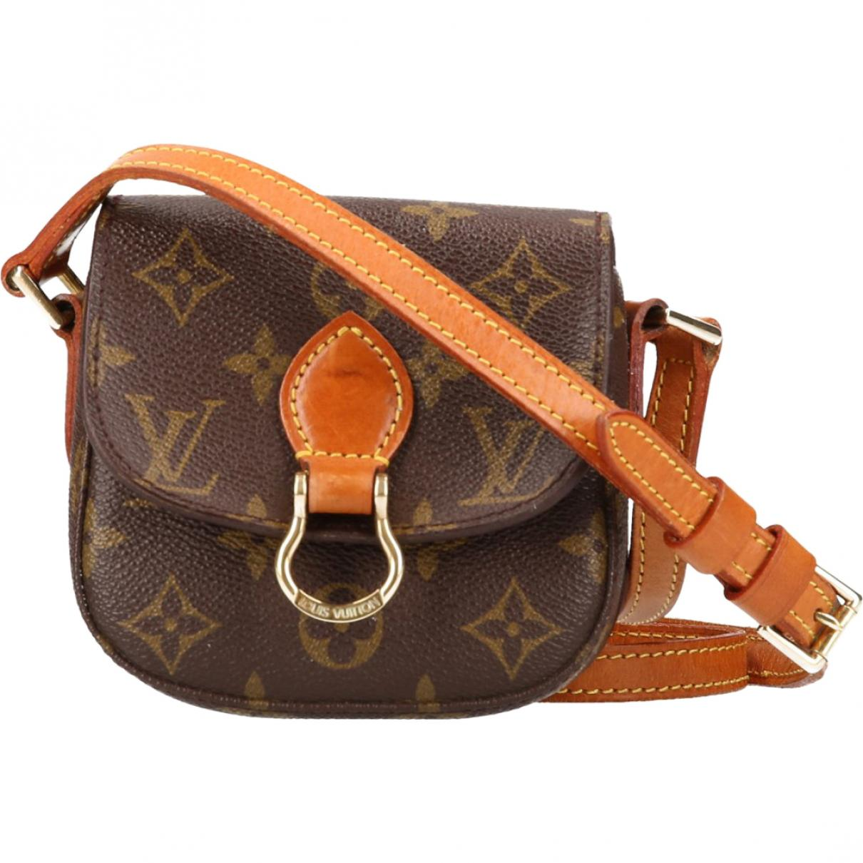 c5bb38a7ac157 Louis Vuitton Saint Cloud Cloth Bag in Brown - Lyst