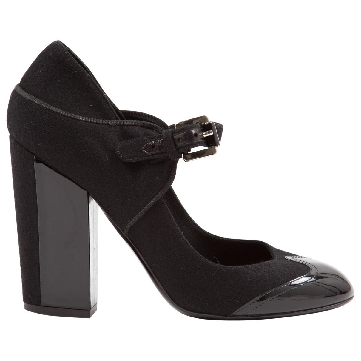 Pre-owned - Black Heels Chanel 0MLJUEFnff