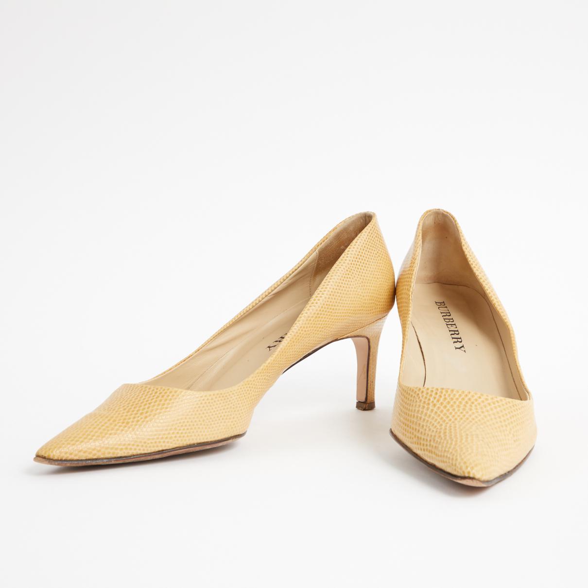 Pre-owned - Lizard heels Burberry tokeG