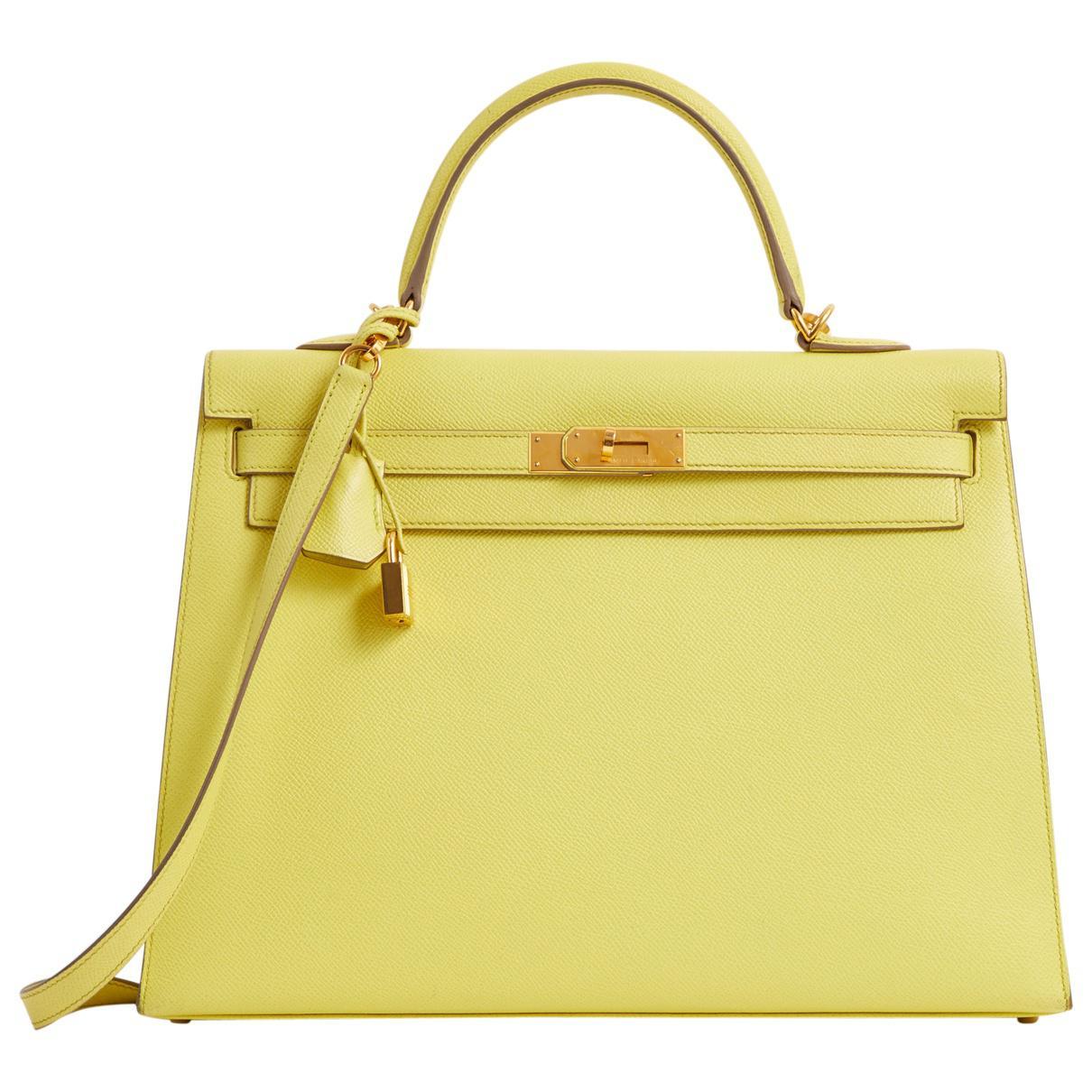 Hermès Pre-owned - Kelly 35 cloth bag dL4gXnDkDP