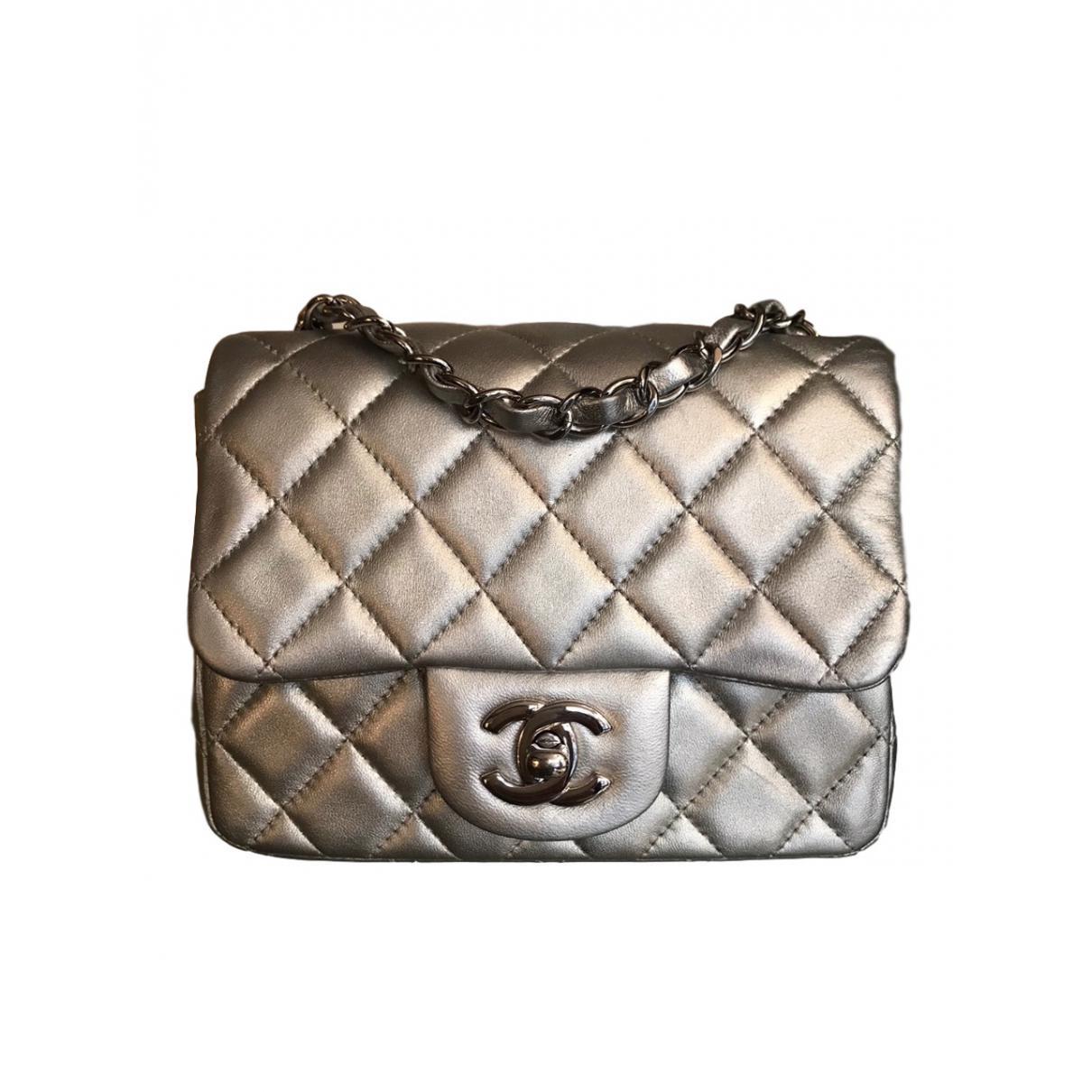 f416b873a047 Chanel. Women s Metallic Timeless Leather Handbag.  3