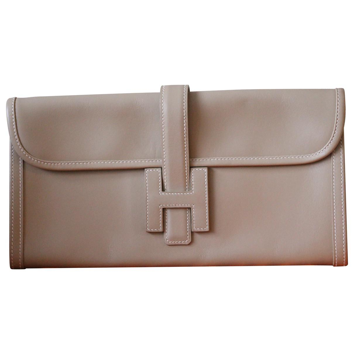Hermès Pre-owned - Leather clutch bag C0YXCoPZ8