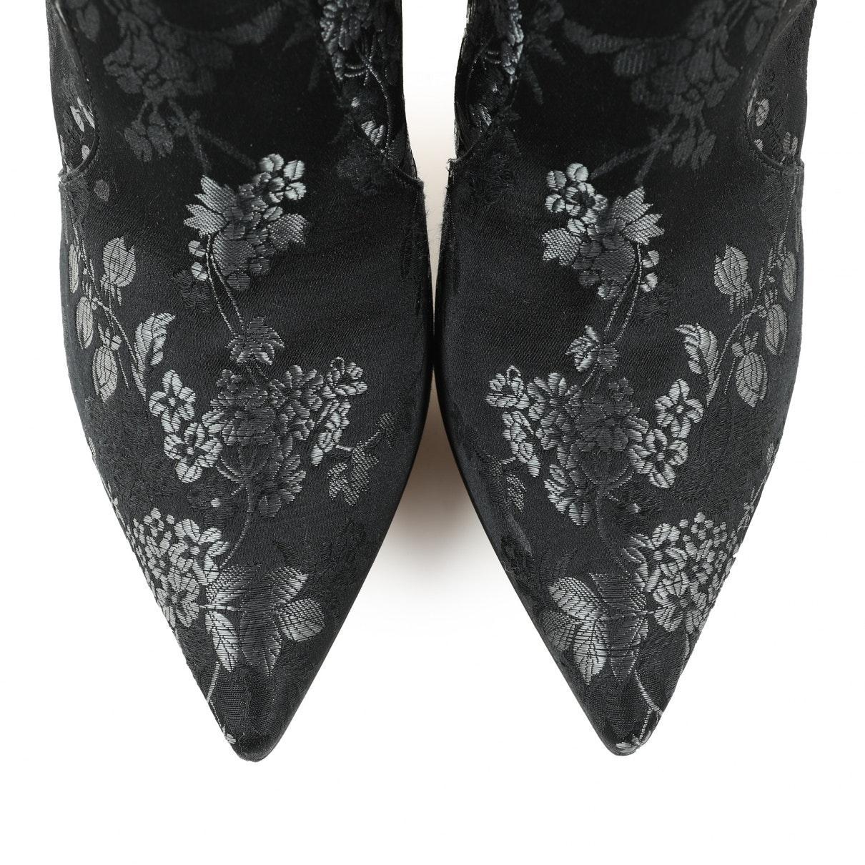 Botas en lona negro Gianvito Rossi de color Negro