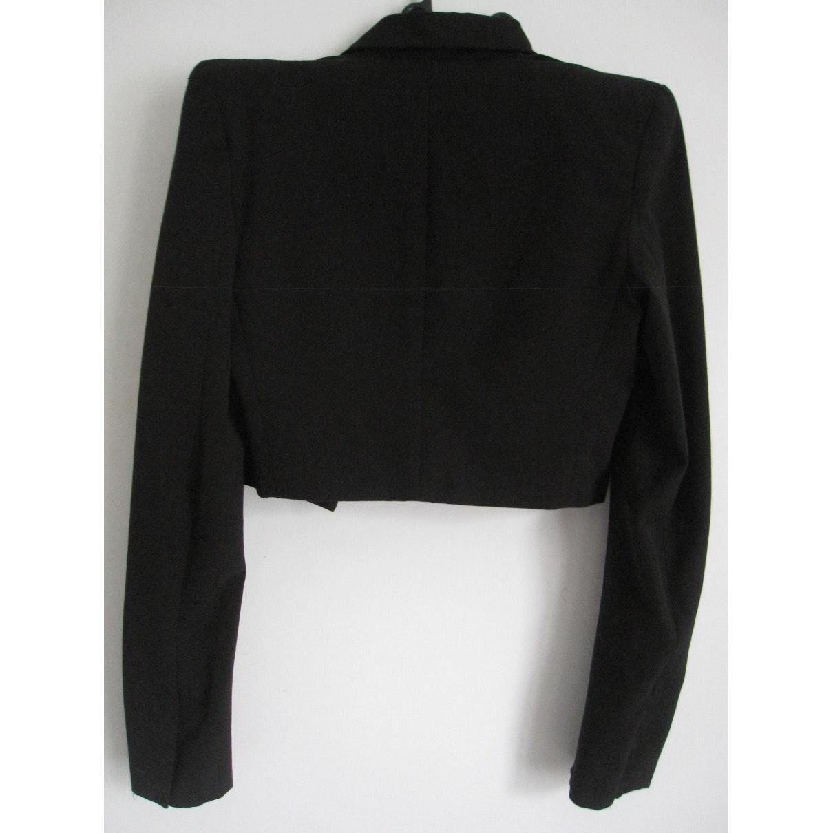Vest en Polyester Noir Alexandre Vauthier en coloris Noir
