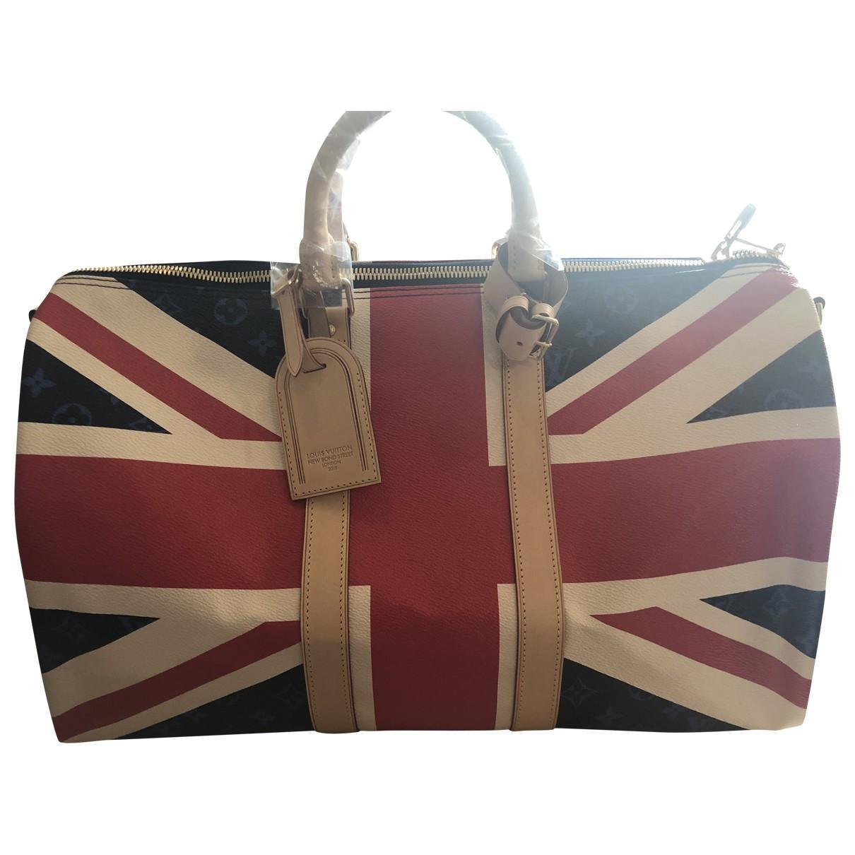 6d627df1f9a6 Louis Vuitton. Women s Keepall Cloth 48h Bag