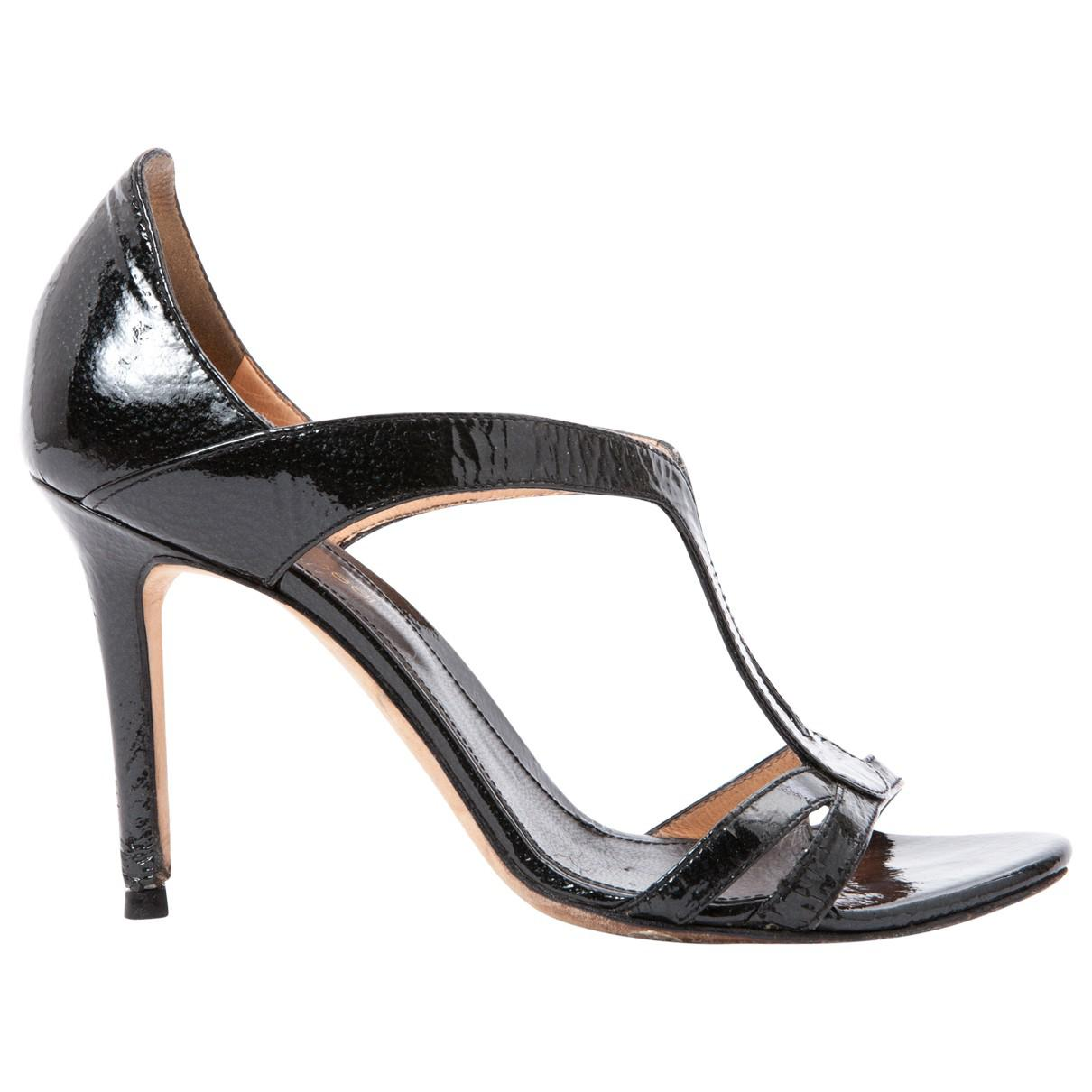 Pre-owned - Patent leather sandals Sergio Rossi ICE7RwFh5
