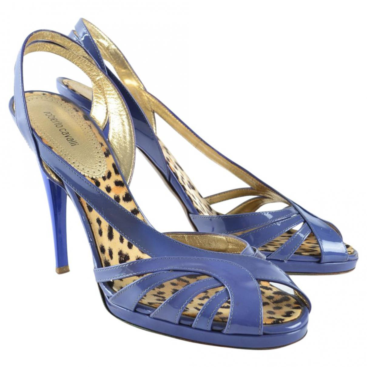 Pre-owned - Sandals Roberto Cavalli Free Shipping 2018 Discounts Cheap Online For Sale Online Cheapest 9i1KCej