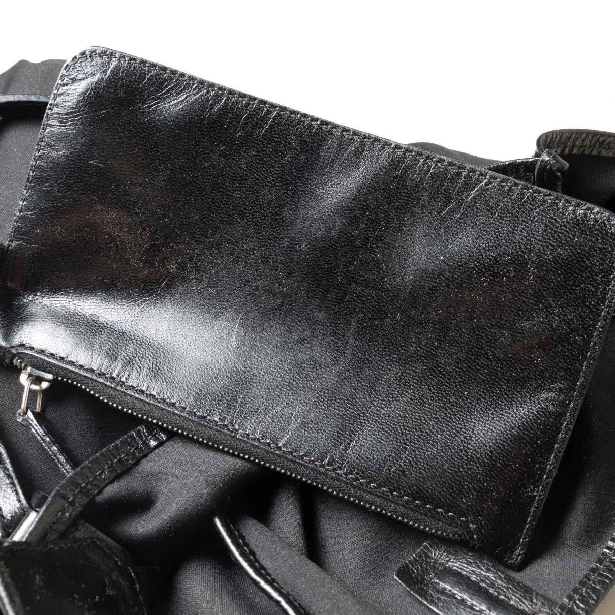 Sac à main en Coton Noir Coton Fendi en coloris Noir dR7R