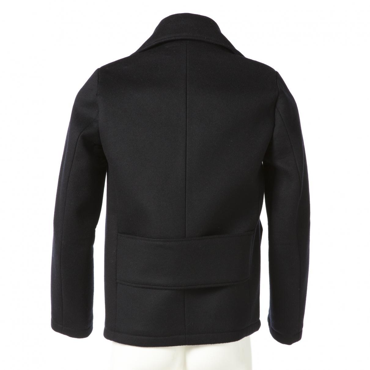 Manteau en laine Synthétique Acne Studios pour homme en coloris Noir T3buD